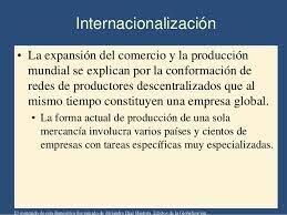 ¿Internacionalización, mundialización o globalización?