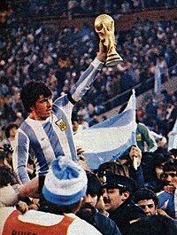 Campeón Argentina del mundial: Argentina 1978