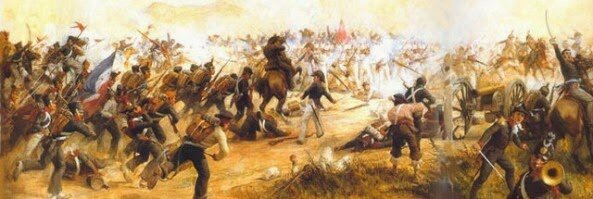 Panorama de culminación Guerra de los Supremos.