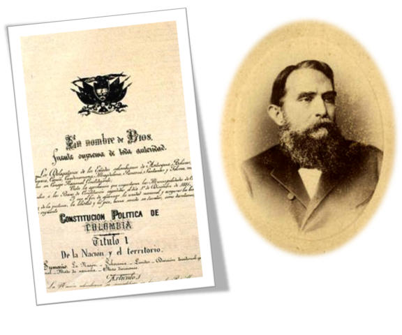 Constitución de 1886.