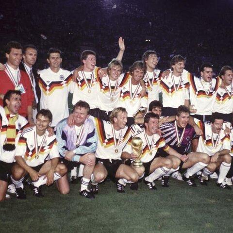 Campeón Alemania del mundial: Italia 1990