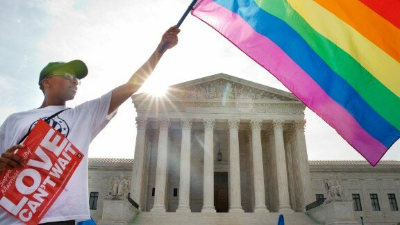 Gay marriages in the U.S.