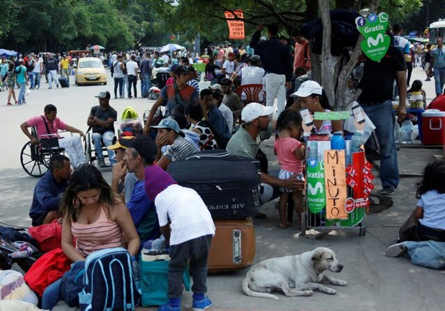 Exodus of Venezuelans fleeing the crisis