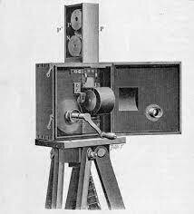 The First Public Projector Showing