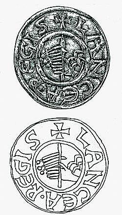 Magyarország első ezüst dénárja