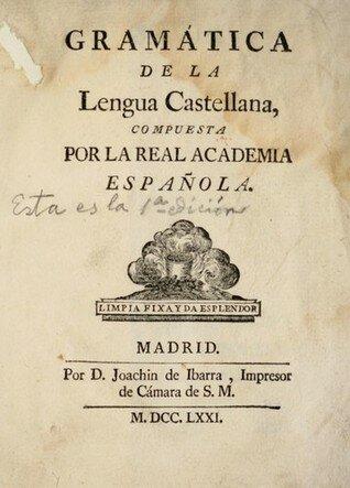 «Gramática en español» de Nebrija