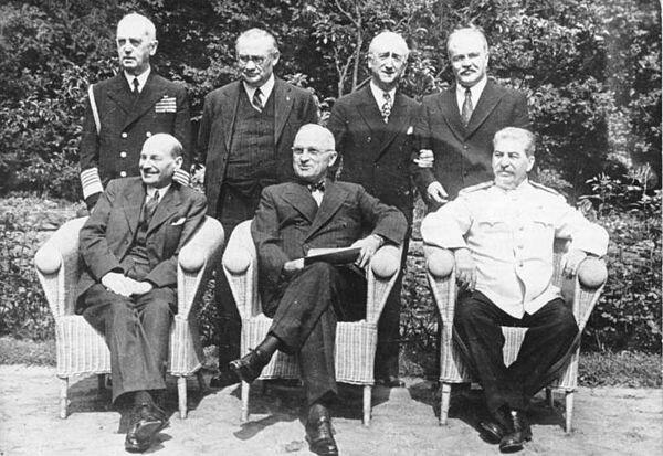 Conferencia de Potsdam.