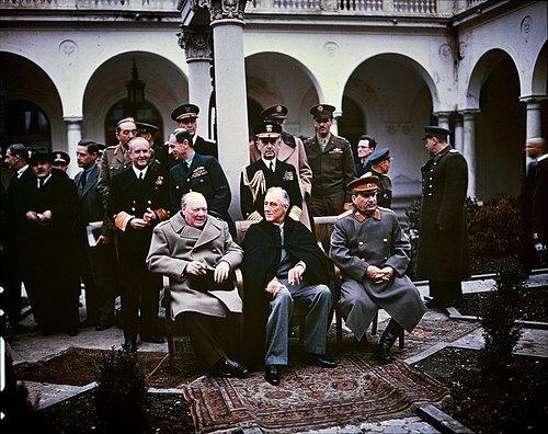 Conferencia de Yalta.