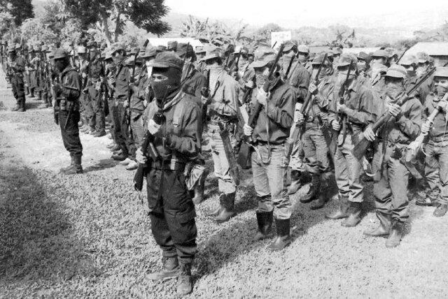 Levantamiento armado en Chiapas