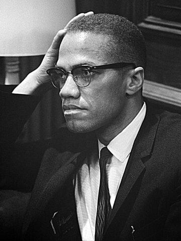 Malcolm X. (1925-1965).