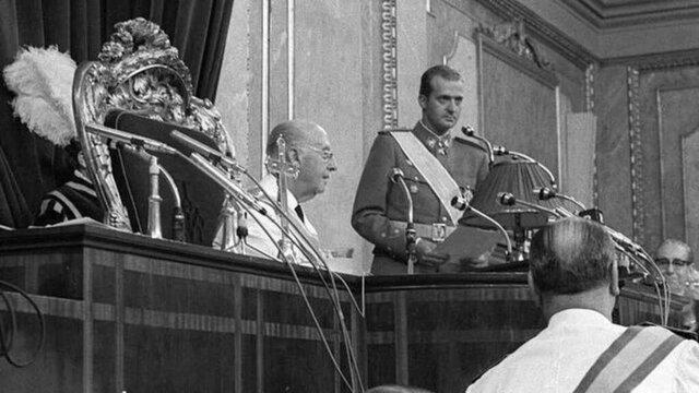 Nombrado Don Juan Carlos Sucesor de Franco
