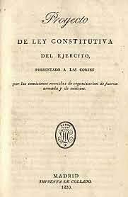 LA LEY CONSTITUTIVA DE LAS CORTES