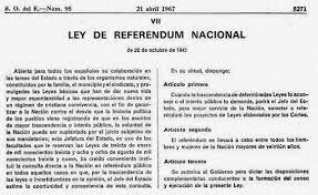LEY DE REFERÉNDUM NACIONAL