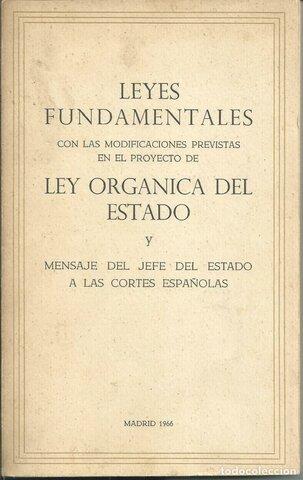 LA LEY ORGANICA DEL ESTADO
