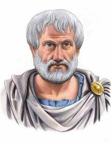 ARISTOTELES ( Macedonia 484-322 a.c.)