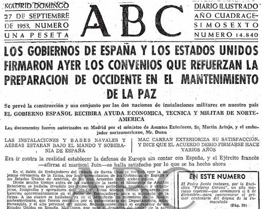 CONVENIO DE DEFENSA Y AYUDA CON LOS ESTADOS UNIDOS