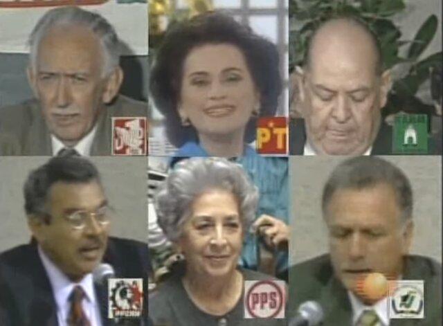 Otros candidatos a la presidencia