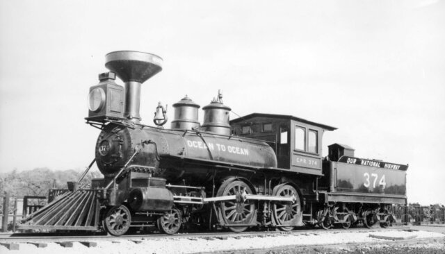 First Steam Powered Train Invented