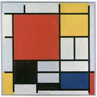 Obra de Piet Mondrian