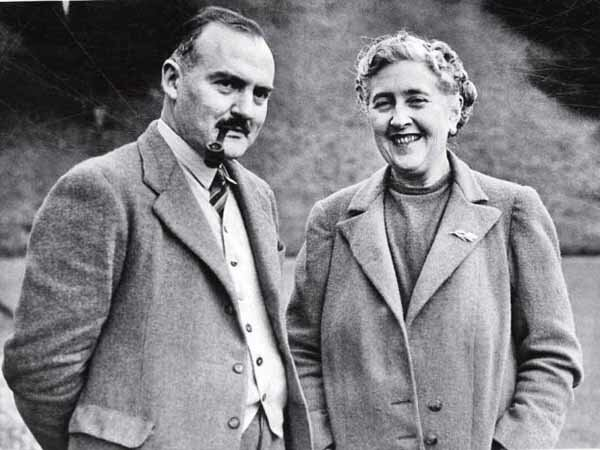 Agatha Christie he remarried an archaeologist and introduced the character Jane Marple in his book