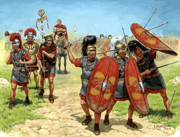 La Primera Guerra Civil Romana