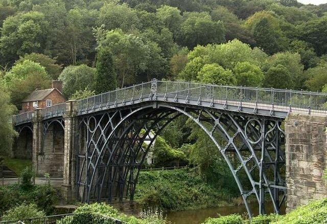 El puente sobre el río Severn En Coalbrookdale