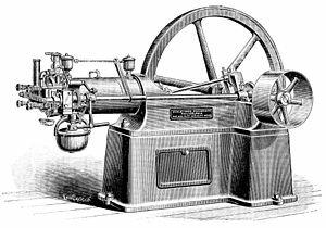 Primer motor de explosión de gasolina