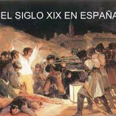 crisis de la monarquía española desde principios del siglo XIX timeline