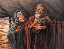 Abraham tiene un hijo con su verdadera mujer