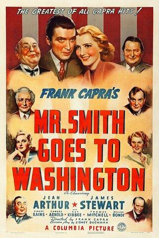 Mr. Smith Goes to Washington por Frank Capra.