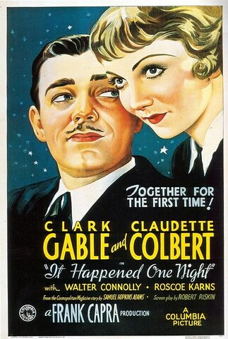 It Happened One Night (Lo que sucedió aquella noche) por Frank Capra.