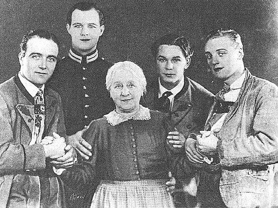 Cuatro hijos por John Ford.
