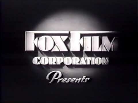 Fox Film Corporation. - Estudo cinematográfico.