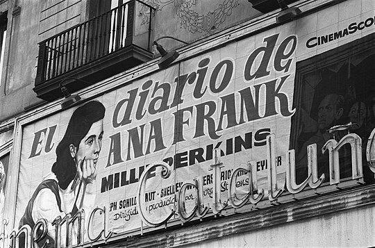El diario de Ana Frank (película) por George Stevens.