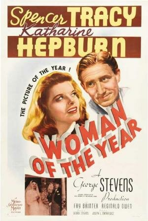 """""""La mujer del año"""" por Georges Stevens."""