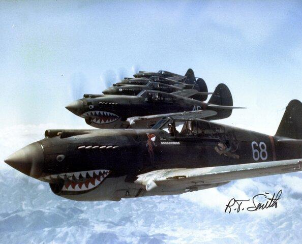 Tigres Voladores - Grupo de cazas - USAF.