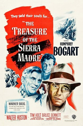 El tesoro de Sierra Madre por John Huston.