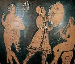 Músicos en antigua Roma