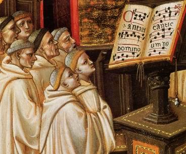 Evolución del canto gregoriano