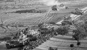 inici de la guerra dels Sis Dies entre àrabs i israelians