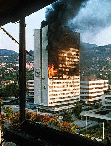 Guerra a Bosnia Hercegovina