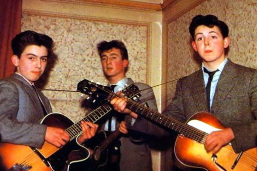 John Lennon creates a highschool band called the quarrymen