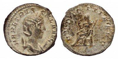 Római Birodalom: bevezetik a pénz használatát