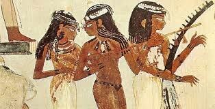 Instrumentos en el antiguo Egipto