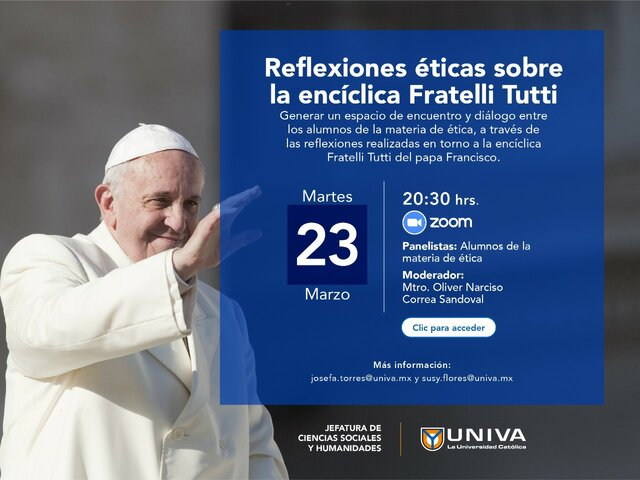 Virtual conference of ethical reflections