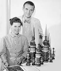 El diseño industrial en EEUU: Charles y Ray Eames