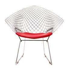 El diseño industrial en EE.UU: The diamond chair