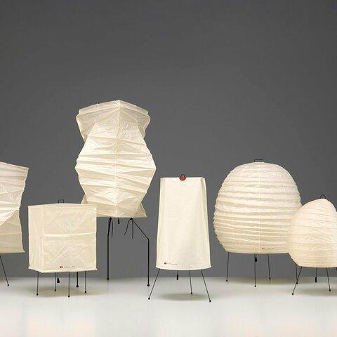 El diseño industrial en EE.UU: Isamu Noguchi (Akari)