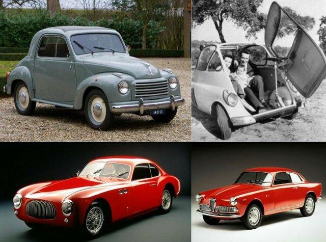 Diseño italiano: automovilístico