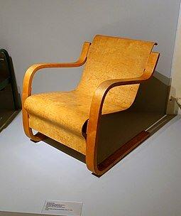 Muebles y objetos escandinavos: santuario paimio (Aalvar Aalto)